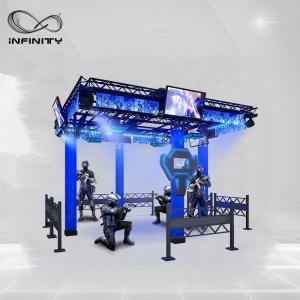 Quality 9D Multiplayer Virtual Reality Walking Platform / VR Walking Simulator for sale
