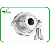 Quality Pharmaceutical Sanitary Stainless Steel Check Valve With Acid And Corrosion Resistance for sale