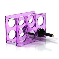 Quality Hot acrylic wine stopper holder stand and liquor bottle rack display for wine and drink for sale