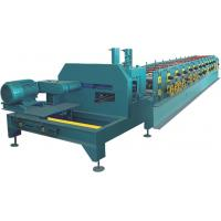 Buy PLC Control C Purlin Roll Forming Machine / Z Purlin Machine With Hydraulic Cutter at wholesale prices