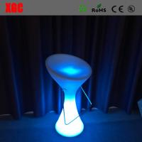 Quality 2016 Hot Sale Plastic Glowing Chair With Rechargeable RGB LED Lights for sale
