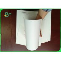 Buy cheap 100% Virgin Wood Pulp 300g Cardboard Paper Roll / Ivory Board Paper For Book Cover from wholesalers