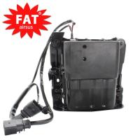 Quality 97035815110  97035815109 Air Ride Suspension Compressor With Bracket / Air Shock Pump for sale