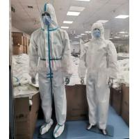 Quality Latex Free Disposable Protective Suit , Disposable Full Body Suit Skin Friendly for sale