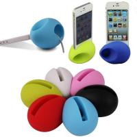 Quality Egg shaped phone stand / amplifier/speaker for sale