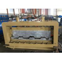 Buy cheap Professional Metal Building Hydraulic Floor Deck Sheet Roll Forming Machine 6kw 50-60HZ from wholesalers