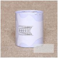 Quality Paper Box Nail Form Strong Paper Acrylic Nail Extension For Salon Use for sale