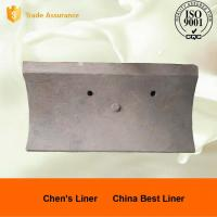 Quality Good Wear Resistance Ball Mill Liner Plate / Steel Liners for AG Mills and SAG Mills for sale