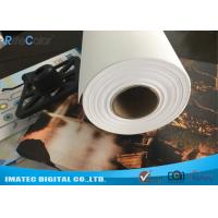 Buy Premium 320gsm Matte Poly Cotton Canvas Rolls For Printing Aqueous Pigment Ink at wholesale prices
