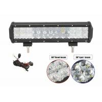 Quality 72W 180W High Output LED Light Bar 12 Volt Waterproof Low Power Consuming for sale