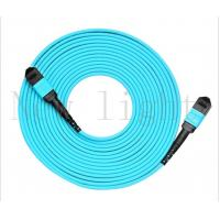 Quality Blue Color MPO - MPO Fiber Cable Optical Fiber Patch Cord  PVC /  LSZH  Multi Mode for sale