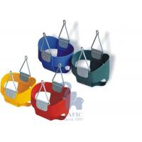 Buy Safety Red infant And Toddler Bucket Swing / Full Bucket Swing Seat at wholesale prices