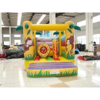 Quality Popular Cartoon Giraffe Inflatable Bouncer Castle for Kids  Indoor Inflatable Bouncy Castle for sale