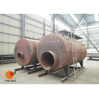 Quality CWNS Type Oil Fired Hot Water Boiler Heating System / Fire Tube Steam Boiler for sale
