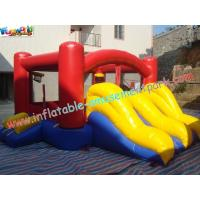 Quality Outdoor Inflatable  Slide Commercial Waterproof With Customized Color for sale