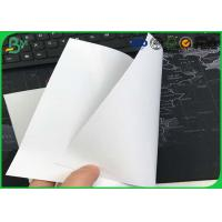 Quality 80gsm - 100gsm One Side Coated Paper , Food Grade C1S Art Paper For Adhesive Label for sale
