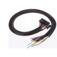 Quality A/V / HDMI Cables PET Expandable Braided Sleeving Polyester Material ROHS Approval for sale