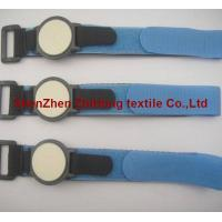 Quality Adjustable hook loop magic tape webbing watch band for sale