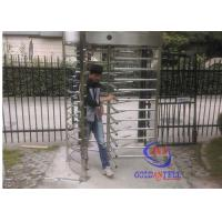 China Brushed Stainless Steel Full Height Gate Qr Code Scanner Pedestrian Channel Management on sale