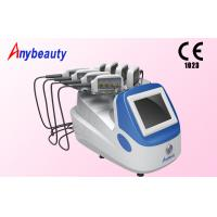 Quality 8 Treatment Heads Diode Lipo Laser Slimming Machine Color Touch Screen 1 - 30Hz for sale