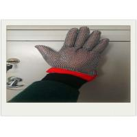 Quality Five Fingers Stainless Steel Gloves With Cut Resistant For Cooking for sale
