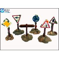Buy Colorful Guidepost Resin Fish Aquarium Ornaments , Commercial Fish Tank Sign at wholesale prices