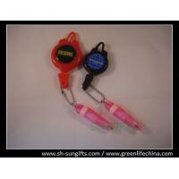China Ski pass holder with mini ball pen and ball chain on sale