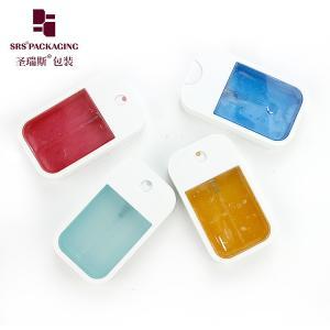 China 40ml square plastic popular empty wholesale face mist spray bottle on sale