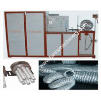 Quality Different Diameters Aluminum Flexible Duct Machine With Temperature Control System for sale