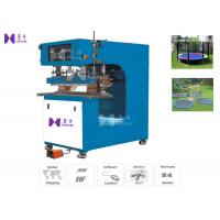 Quality 15KW High Frequency PVC Welding Machine 1T Max Pressure For Welding Trampoline bed for sale