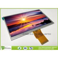"""Quality 7.0"""" RGB Interface Lcd Display 800 X 480 , Wide View High Brightness LCD Module for sale"""