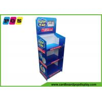 Quality CMYK Full Color Printed Cardboard Display Stands Easy Assembly For Sleep Toys FL179 for sale