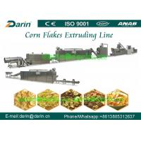 Quality High capacity Bulk corn flakes automatic food making machine for Cereals snacks for sale