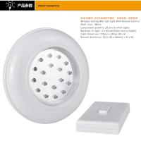 Quality Indoor Warm White Battery Powered Light With Remote Switch 17×4.5CM for sale