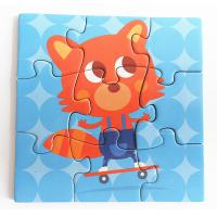 Buy cheap Interesting Magnetic Activity Set , Educational Jigsaw Puzzles 9 X 9 Cm from wholesalers