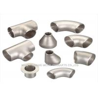 Quality 316L Stainless Steel Sanitary Fittings / 304 Stainless Steel Tee Forged for sale