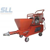 Quality 380 V 7.5kw Mortar Spraying Machine Ready Mix Spray Plaster Machine For Exterior for sale
