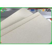 Quality Uncoated Double Sided Corrugated Medium Paper Grey Chipboard Paper For Package Box for sale