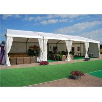 Quality Custom White PVC Fabric Outdoor Party Marquee Standard UV - Resistant for sale