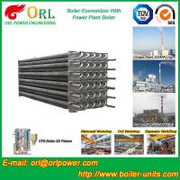 Quality Water Heater Boiler Stack Economizer Boiler System , Boiler Economiser for sale