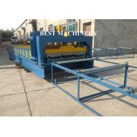 Buy cheap 1000mm Metal Roof Roll Forming Machine Double Layer , Roofing Sheet Making Machine from wholesalers