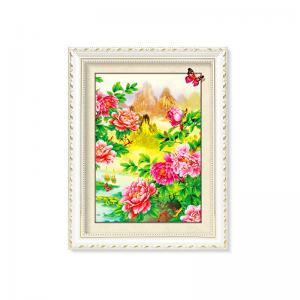 Quality Flowers And Plants 5D Images Lenticular Art Prints For Restaurant Decor for sale
