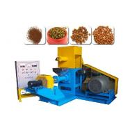 Quality Cat Dog Feed Pellets Making Machine 18.5KW Power Motor 380V / 3 Phase for sale