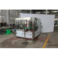 Quality Automated Piston Beverage Can Filling Machine With Bottle Cap Sealing for sale