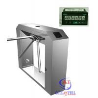 China Rfid Card Tripod Turnstile Gate With Counter For Visitor Magement System on sale