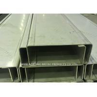 Quality Customized Stainless Steel C Channel / Stainless Steel Channel For Park Project for sale