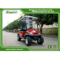 China EXCAR 48V 3KW Dune Buggy Club Car , Electric Hunting Carts For Adult on sale