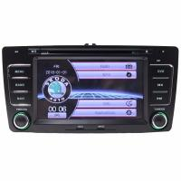 Buy cheap Wholesale 2 DIN 7 Inch Car DVD Player GPS Navigation for Skoda Octavia Laura 2004-2013 Steering Wheel Control from wholesalers