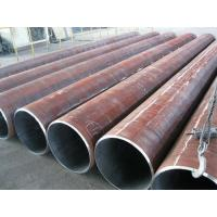 Quality Round Welded LSAW Steel Pipe , Longitudinal Submerged Arc Welding Pipe 60mm - 3500mm for sale