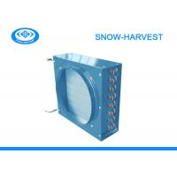 Quality Fin Type Air Cooled Condenser High Strength Low Noise With Galvanized Sheet for sale